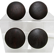 Four Period Wood Knobs