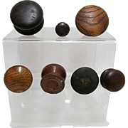 Antique Wood Drawer Knobs or Pulls for Furniture