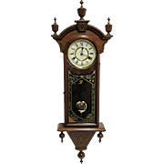 American Chiming Antique Wall Clock