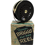 Duncan Briggs Fly Reel with Box