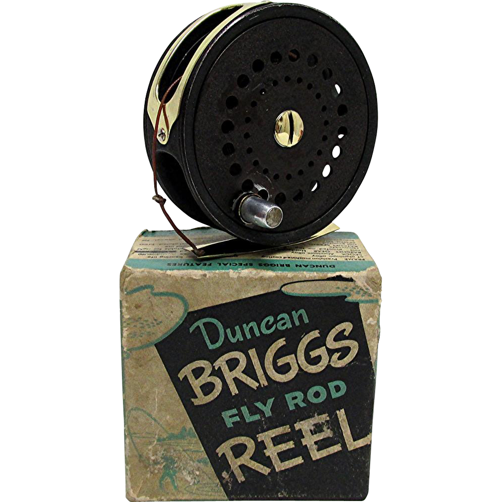 SOLD We Have Other Fly Reels Duncan Briggs Fly Reel with Box