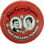 Sweet Georgia Brown Hair Dressing Promade  Pocket Tin