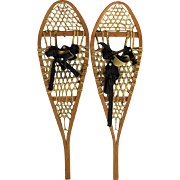 Pair of Antique Snowshoes NO Damage