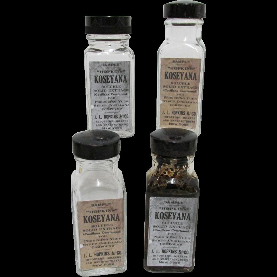 4 Sample Bottles of Hopkins  Koseyana