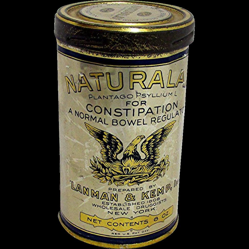 SOLD   Naturalax Pharmacy Tins