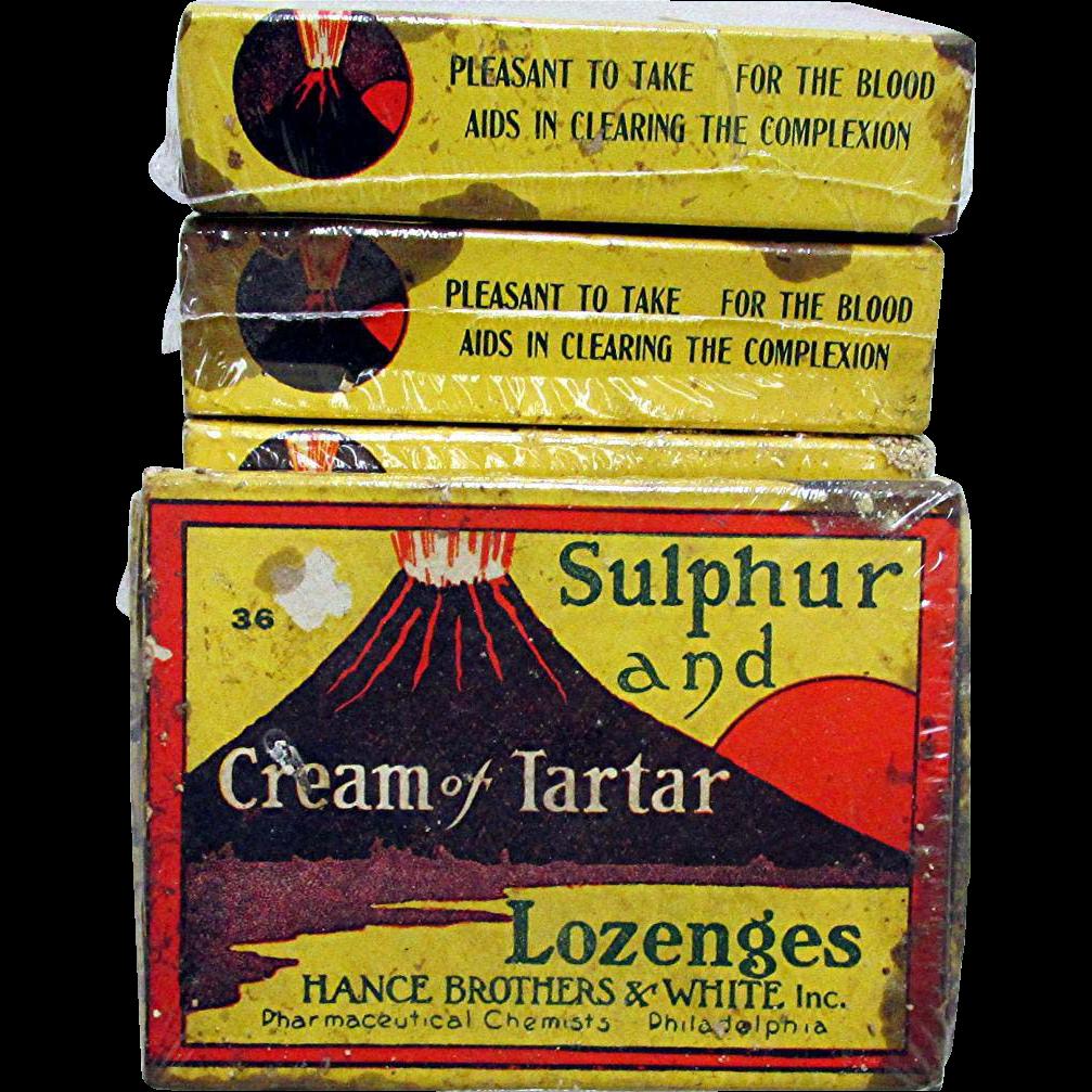 Cream of Tartar Lozenges