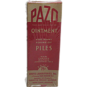 PAZO Ointment Unopened MINT in Box