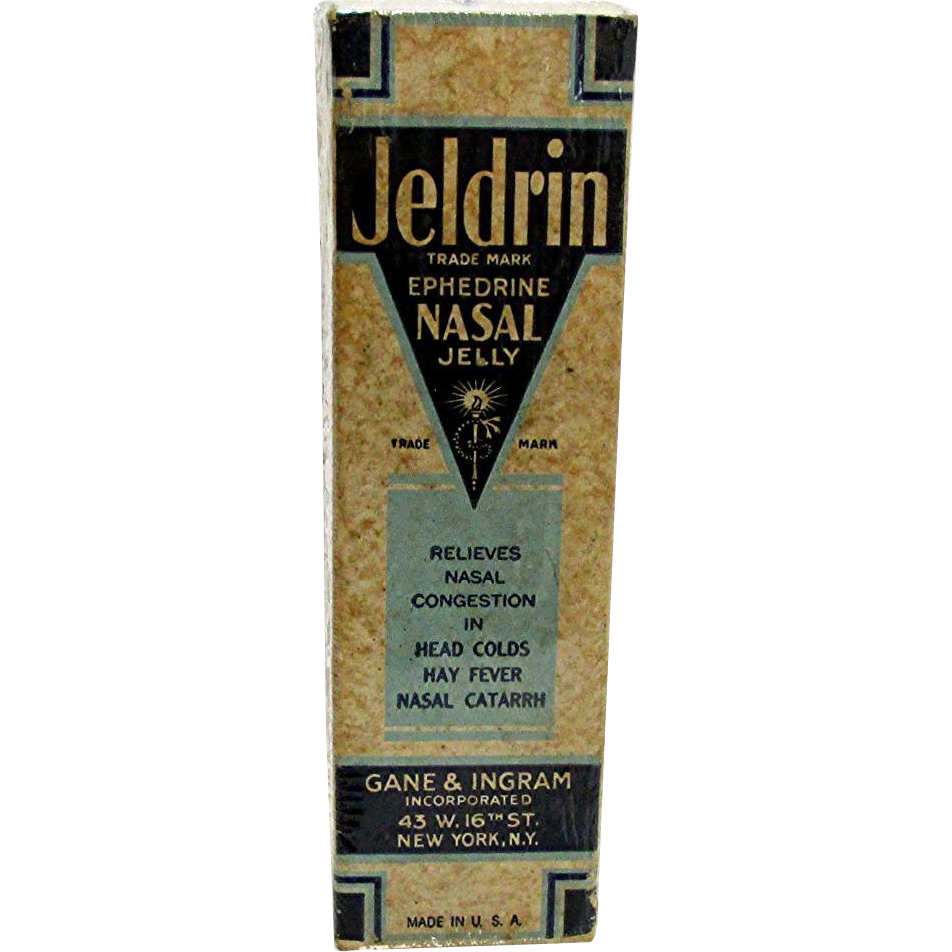Jeldrin Nasal Jelly Unopened MINT in Original Box
