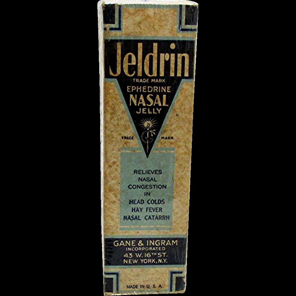 Jeldrin Nasal Jelly Unopened MINT in Original Box