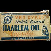 Unopened Van Dykes Haarlem Oil Capsules