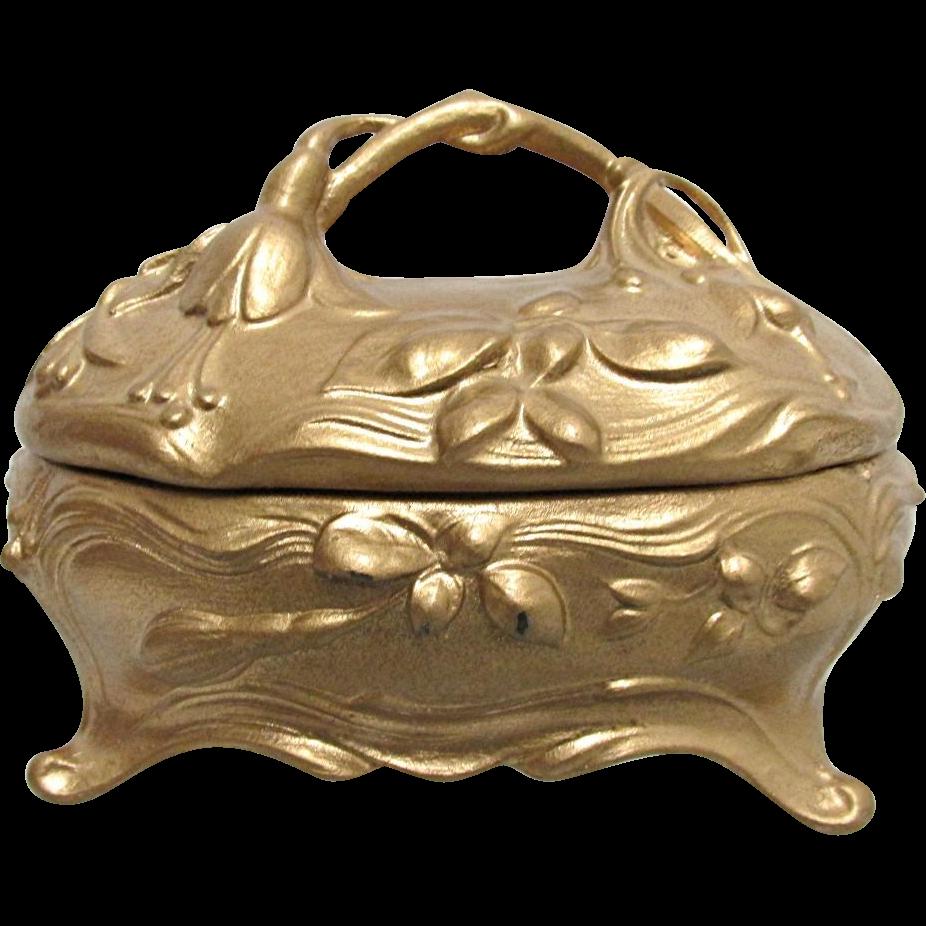 Jewelry Box, Trinket or Casket Jennings Bros.
