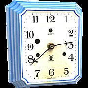 Miller Porcelain Wall Clock WORKS & KEEPS TIME