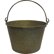 Brass Kettle, Pail, Bucket or Pot By H. W. Haydens