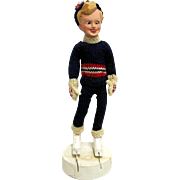 Skater Doll by Mimi Berg Circa 1950
