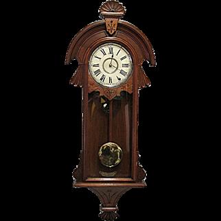 Antique New Haven Wall Clock