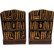 SOLD    See item 3224 another Syroco Set for sale  Bookends Matching Pair Syroco Wood of  Syracuse New York