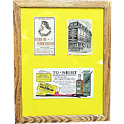 Framed Pharmacy Advertising