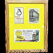 Framed Pharmacy Advertising