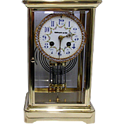 French Clock Tiffany Table Regulator