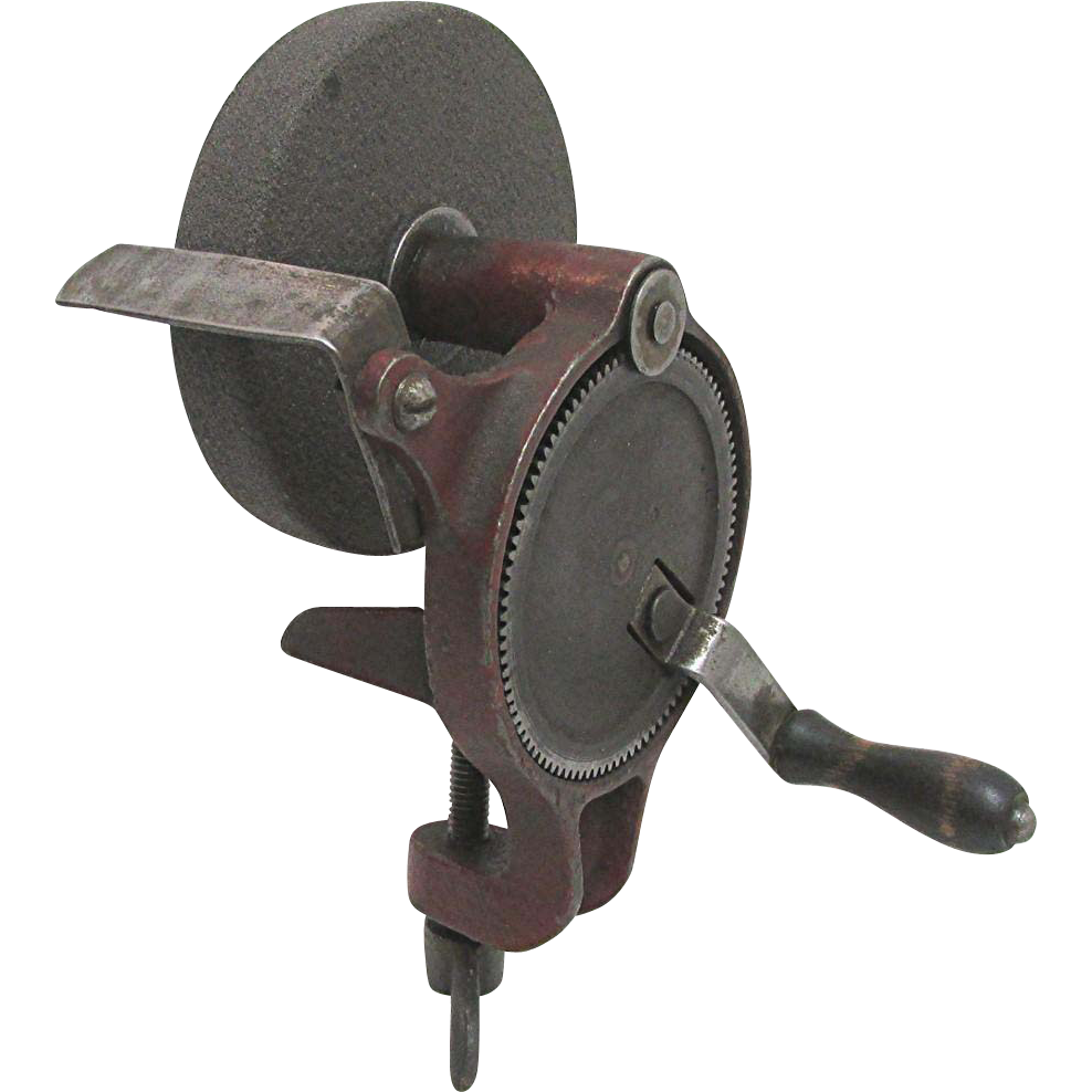 Manually Operated Bench Grinder