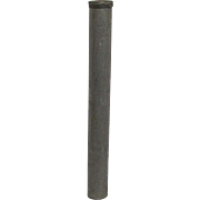 Metal Fly Rod Tube for a Pack Rod