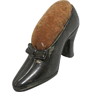 Pin Cushion  Woman's High Heel  Shoe by Jennings Bros.