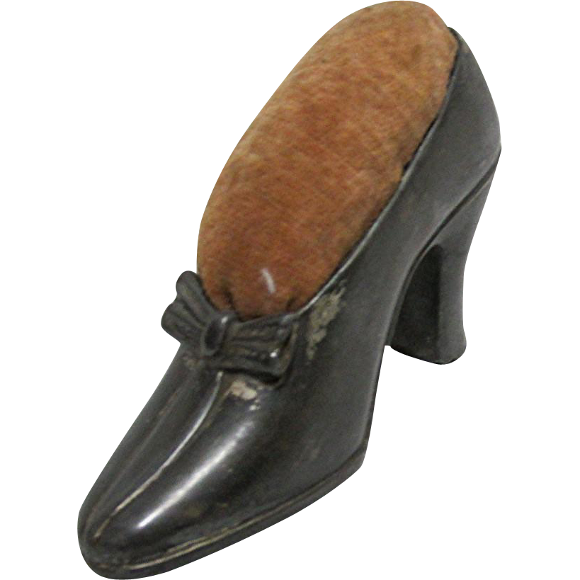 Pin Cushion  Woman's High Heel  Shoe by Jennings Bros.