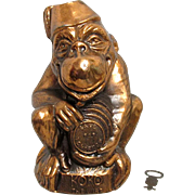 Koko The Wise Cast Metal Still Bank