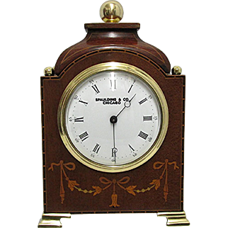 Antique French Miniature Mantel Clock 100% Original and Fully Restored