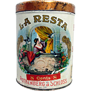 La Resta Cigar Advertising Tin