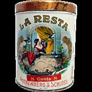 La Resta Cigar Advertising Tin