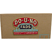 DO-U-NO Advertising Pocket Cigar Box