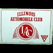 Advertising Pocket Cigar Box Illinois Automobile Club