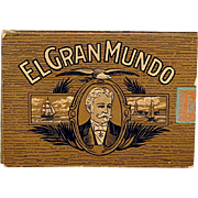 El Gran Mundo Advertising Pocket Cigar Box