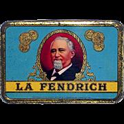 La Fendrich Pocket Advertising Cigar Tin