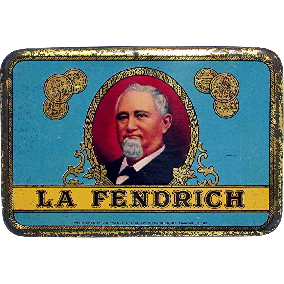 La Fendrich Pocket Advertising Cigar Tin