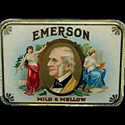 Emerson Pocket Advertising Cigar Tin