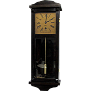 Miniature Clock W. L. Gilbert Antique Wall Clock Week Duration