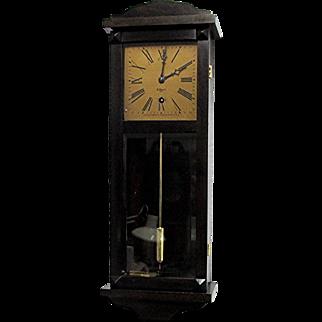 Miniature Clock W. L. Gilbert Antique Wall Clock Week Duration