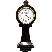 Miniature Clock Antique French Tavern Clock 100% Original