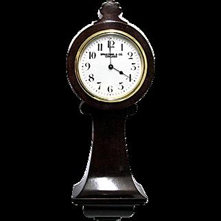 Miniature Clock Antique French Tavern Clock 100% Original