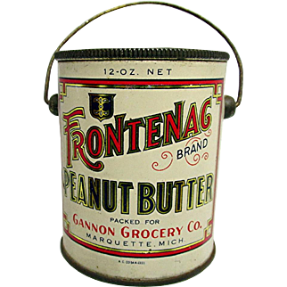 Frontenac Peanut Butter Advertising Tin