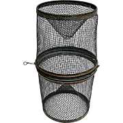 Fishing Minnow Trap Metal Cage