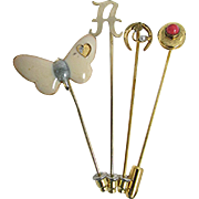 Stick Pins Four Different Stickpins