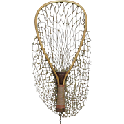 Wood Fly Fishing Trout Net