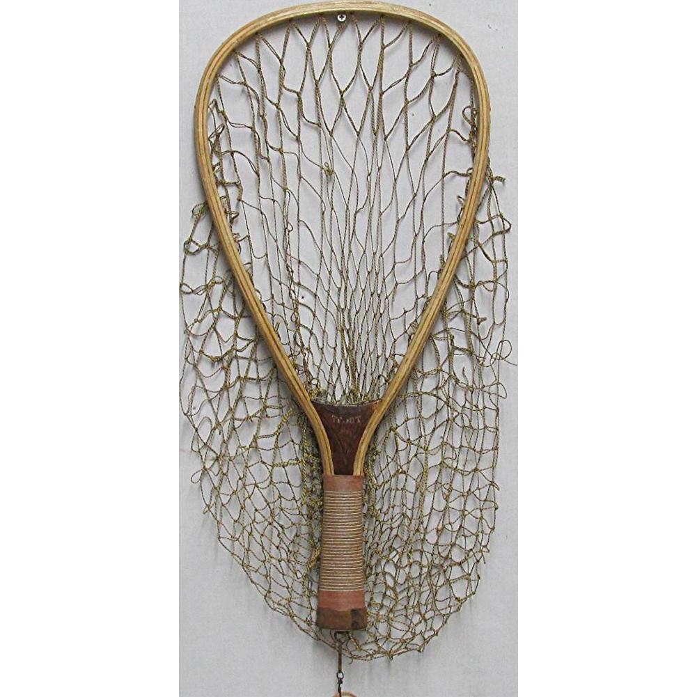 Wood Fly Fishing Trout Net