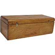 Antique Document Box for Documents, Storage or Candle Box
