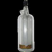 Pharmacy or Chemistry Lab Glass Bottle
