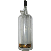 Pharmacy or Chemistry Lab Glass Bottle