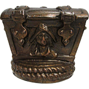 Bank Pirates Chest Cast Metal